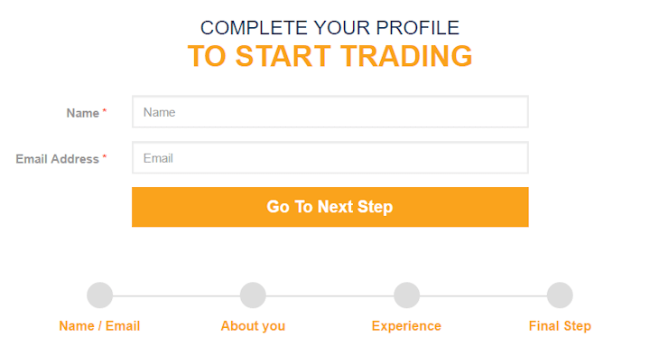 fxprimus broker account registration to start trading