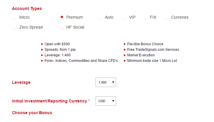 hotforex micro premium vip zero spread currenex auto fix islamic and leverage currency bonus
